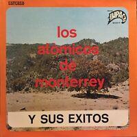 Los Atomicos de Monterrey Exitos Norteño Tex Mex Tejano Discos Impacto lp