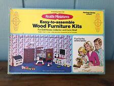 1975 Realife Real Life Miniatures Heritage Collection Nursery Kit 192 NIB