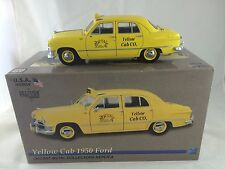 MOTOR CITY (USA MODELS ) 1950 YELLOW FORD TAXI