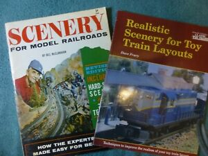 Scenery for Model Railroads by McClanahan&Realistic Scenery for Trains by Frary