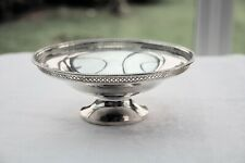 Solid silver Tazza/Fruit stand, Sheffield 1960, 351 gms. Good cond. Not scrap.