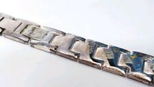 Fine Sterling Silver Women`s Watch Band New with Patina 51.5g
