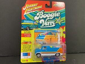 Johnny Lightning Ford Econoline Van Boogie Vans 1976 JLSF020 A 1/64
