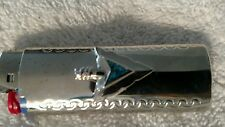 Vtg Turquoise Silver Arrow head Western Cover Case Bic cigarette Lighter Holder