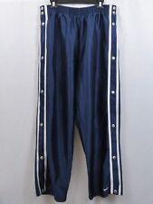 NIKE Vintage Tearaway Athletic Warm Up Pants Blue Size L