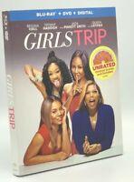 Girls Trip (Blu-ray+DVD+Digital, 2017; 2-Disc Set) NEW w/ Slipcover