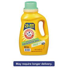 Arm & Hammer He Compatible Liquid Detergent Unscented 50oz Bottle 8/Carton