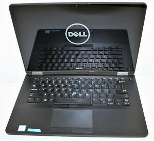 """14"""" WQHD Dell Latitude E7470 Intel Core i7 6th 8GB 256GB WiFi BT 2560x1440 Touch"""