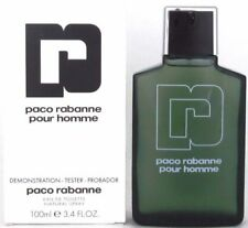 PACO RABANNE POUR HOMME 3.4 oz EAU DE TOILETTE SPRAY *MEN'S PERFUME*TSTR BOX NEW