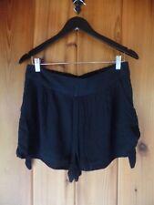 New Free People Black Rayon Shorts Size M