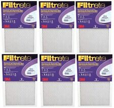 3M Purple Ultra Allergen Filtrete Filter Furnace / Air Filter 16x25x1 (lot of 6)