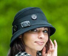 Felt Cloche Hats for Women
