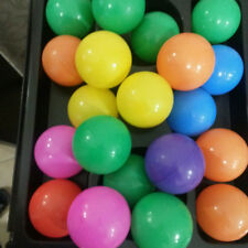 10Pcs Boule Plastique Océan Balle Drôle Pour Bébé Enfant Swim Jouet Cadeau Neuf