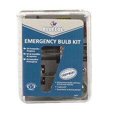 Bluecol TETF60527 Emergency Light Bulb Kit H1 H7 S25 G18 T10 Spade Fuse Safety