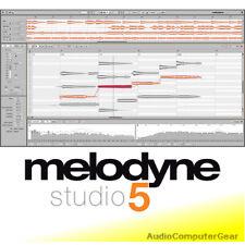 Celemony MELODYNE 5 STUDIO UPGRADE FROM MELODYNE EDITOR Audio Software NEW