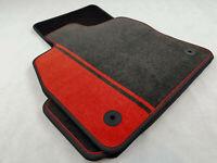 $$$ Original Lengenfelder Fußmatten für VW Golf 7 VII GTI GTD + DRUCK ROT + NEU