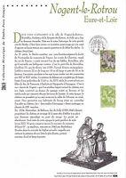 Document Philatélique Timbre 1er Jour : 28/04/ 2001 - Nogent le Rotrou