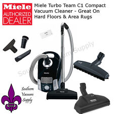Miele Turbo Team C1 Compact Vacuum Cleaner - Great On Hard Floors & Area Rugs