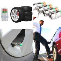 4 Stücke Auto Auto Reifendruckkontrolle Ventilkappe Druckanzeige Sensor Alarm