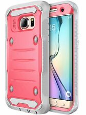 Samsung Galaxy S7 Edge Case Hybrid Armor Shockproof TPU Bumper Protection Cover