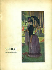 SEURAT, Paintings and Drawings. The Art Institute of Chicago, 1958