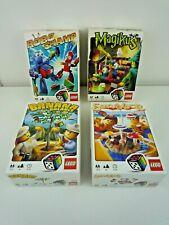 4 LEGO GAMES ROBOCHAMP, MAGIKUS,SUN BLOCK & BANANA BALANCE, BOXED COMPLETE