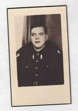 SOLDAAT F.BOGHMANS °ST.JANS MOLENBEEK Gesneuveld Fort EBEN EMAAL 1940