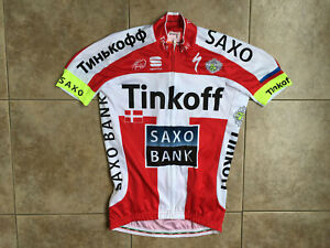 Saxo Bank Tinkoff Sportful Body Fit Pro Cycling Jersey Sz.S