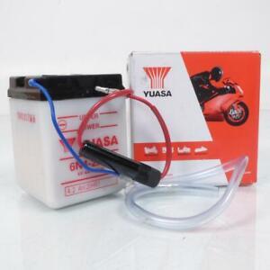 Batteria Yuasa per Moto Honda 500 XL Sz 1980 6N4-2A-4/6V 4Ah Nuovo