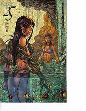 Witchblade #25 Rare Gold Speckles Cover! Fathom! NM/M! Top Cow Image Comics