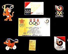 A1988 HODORI SEOUL KOREA OLYMPIC GAME PIN SET not TOKYO 2020 OR 2018 PYEONGCHANG