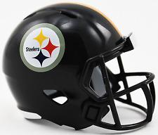 PITTSBURGH STEELERS NFL Riddell Speed POCKET PRO Mini Football Helmet