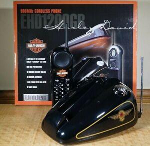 Vintage 1999 Harley-Davidson Teardrop Gas Tank Replica Phone Uniden Cordless
