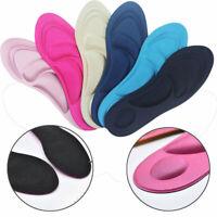 1Pair 4D Sponge Pain Relief Insoles Arch Support Cut Shoe Pad Soft Foot Care Lot