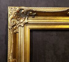 """5"""" Antique Gold Leaf Ornate photo Oil Painting Wood Picture Frame 801G 8x10"""