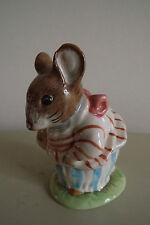 Beswick figure-Beatrix Potter Figurine-Mme tittlemouse 1948 F Warne