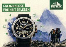 Casio Pro Trek Uhrenkatalog 2016 D Prospekt Uhren catalog watches montres