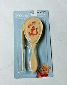 Baby Tigger brush and comb set