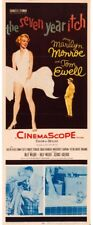 "The Seven Year Itch (20th Century Fox, 1955). (14"" X 36""). Marilyn Monroe Framed"