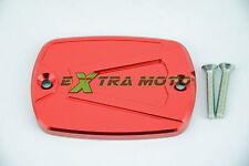 Coperchio cover serbatoio olio freno vaschetta pompa ergal ROSSO T-Max 500 530