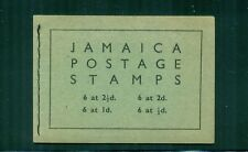 Jamaica 1956 3sh Booklet Upright Panes SG SB14