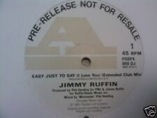 """JIMMY RUFFIN - Easy Just To Say - 12"""" Single PROMO"""