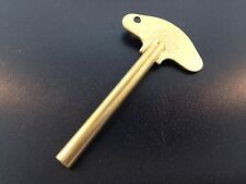 Schatz Anniversary Clock Key 400 Day Trademark #3  3.0 mm New Solid Brass