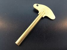 Schatz Anniversary Clock Key 400 Day Trademark #3  3.0 mm New Solid Brass