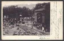 Venezuela Postcard Caracas Mercado Market To Italy 1903