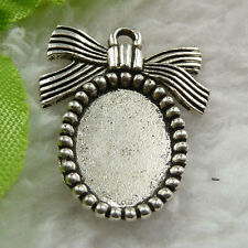 Free Ship 160 pieces tibet silver frame charms 25x19mm #1361