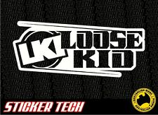 LKI LOOSE KID LOOSEKID INDUSTRIES STICKER DECAL SUITS FMX MOTOCROSS KTM YAMAHA