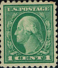 1 Cent Unused US Stamps 1901 1940 For Sale