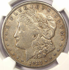 1921-S VAM-1B4A Thorn Head Morgan Silver Dollar $1 - NGC XF40 - $375 Book Value