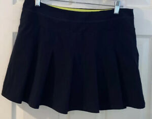 Kyodan Athletica Women's Tennis Skort Pleaded Navy Blue  Size L 30x15